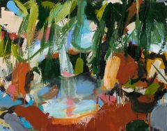 Ann Thomson - 'Rainforest IV' - 56 x 71cm