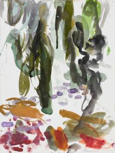 Ann Thomson - 'Rainforest' - 37.5 x 28cm