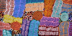 Betty Club Mpetyane - 'My Mothers Story' A16364 - 60x120cm