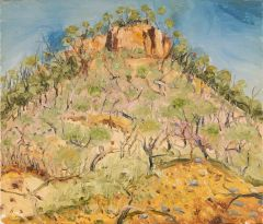 Peter Hudson - Craters Range #2 - en route to Kakadu - 46x54cm