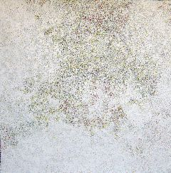 Polly Ngale - Bush Plum - 120x120cm