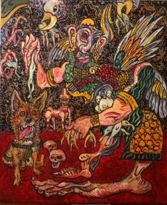 George Gittoes - 'Epic of Bagdadi' - 91 x 76cm