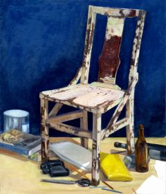 Matthew Cheyne - 'Studio Still Like (The Chair)' - 102 x 122cm