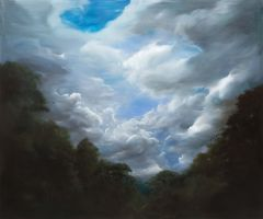 Min-Woo Bang - 'Ghost of Sky II' - 152x183cm