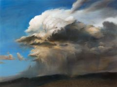 Min-Woo Bang - 'Giant Nimbus Cloud' - 92x122cm