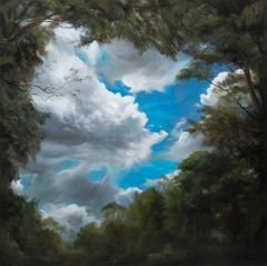 Min-Woo Bang - 'Lost In Nature II' - 102x102cm