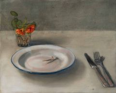 Mirra Whale - Dinner wish - 41x51cm