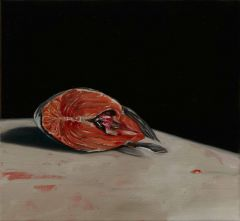 Mirra Whale - Salmon head - 35x37cm