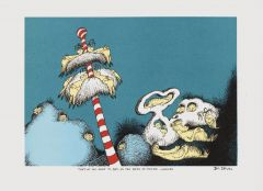 Dr Seuss - Sleepbook, they've all gone to bed in the beds of their choices - 22x30cm