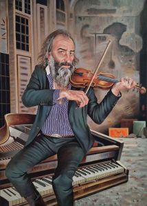 Steve Lopes - Warren Ellis - 180x130cm