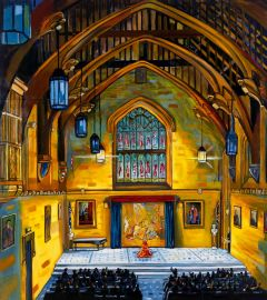 Stewart MacFarlane - 'The Great Hall' - 275 x 244cm