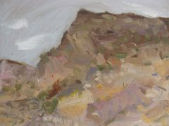 Steve Lopes  - View from Shrapnel Valley - 26x34cm