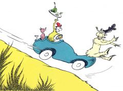 Dr Seuss - Could You? Would You? In a Car? - 26x35cm