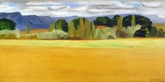 Jeff Makin - Great Western Tiers near Deloraine - 30x61cm