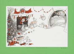 Dr Seuss - If Santa Could do it, then so could the Grinch - 22x30cm