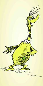 Dr Seuss - The Sneetches 50th Anniversary - 140x66cm