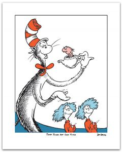 Dr Seuss - These Things Are Good Things (Single) - 44x37cm