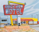Stewart MacFarlane - Ranch View Motel - 153x183cm