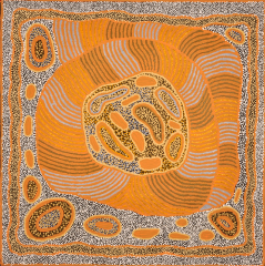 Nellie Marks Nakamarra - Travelling Women A15946 - 120x120cm