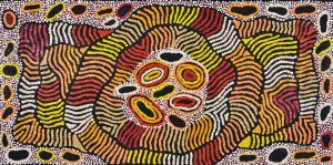 Nellie Nakamarra Marks - 'Travelling Women' A15707 - 60x120cm