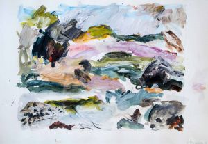 Ann Thomson - 'New Zealand Series' - 29 x 38cm