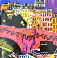 Bernard Ollis Art Book: A Town Like Paris