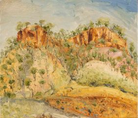Peter Hudson - Craters Range #1 - en route to Kakadu - 46x54cm