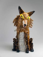 Charlotte Le Brocque - Now I've Got You In My Sights With These Hungry Eyes - 50 x 25 x 25cm