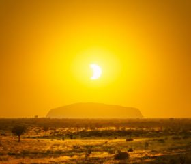 Uluru & Eclipse