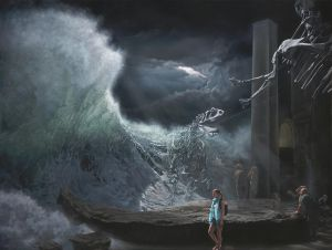 Joel Rea - Echo Repeat - 122x92cm