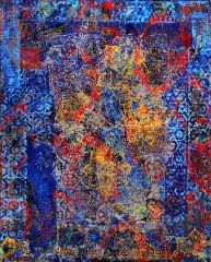George Gittoes. 'For Jim Morrison - 'Door to the Other Side' - 153 x 122.5cm