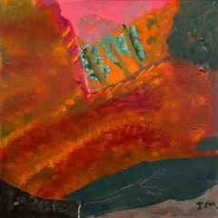 Idris Murphy - 'Shadows and Last Light - The Kimberley's' - 45x44cm