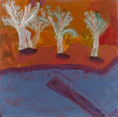 Idris Murphy - 'Threes Shadows' - 45 x 45cm