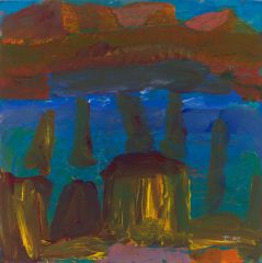 Idris Murphy - 'Langi Evening Stones' - 45x44cm