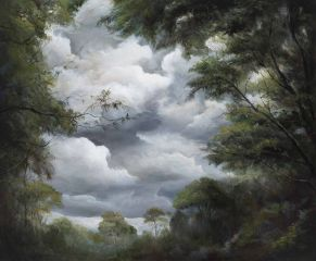 Min-Woo Bang - 'Looking Through A Forest' - 51x61cm
