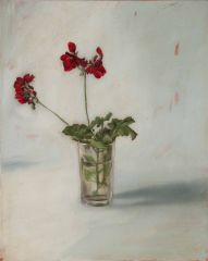 Mirra Whale - Vincent Street blood red geranium - 51x41cm