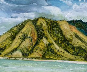 Peter Hudson - Endeavour River, Cooktown - 25x30cm