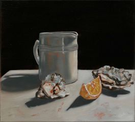 Mirra Whale - Sal's Jug and Oysters - 35x37cm