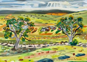 Stewart MacFarlane - Bottom of Flinders - SA - 26x36cm
