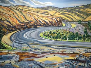 Stewart MacFarlane - The Winding Road - 137x183cm