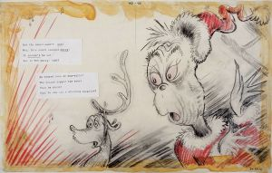 Dr Seuss - This Sounded Sounded Merry - 37x86cm