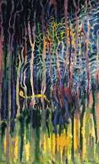 Dr Seuss - Worm Burning Bright in the Forest in the Night - 102x64cm