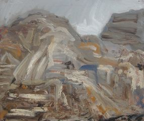 Steve Lopes - Gully View Anzac Cove - 33x40cm