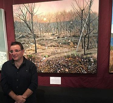 2018 Gallipoli Art Prize Winner - Steve Lopes